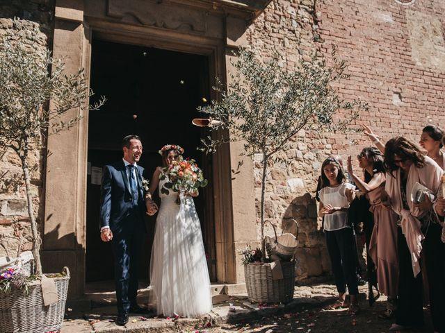 Il matrimonio di Lorenzo e Chiara a Barberino Val d'Elsa, Firenze 38