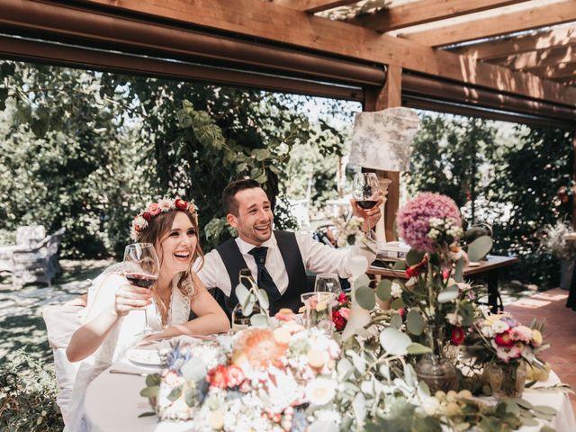 Il matrimonio di Lorenzo e Chiara a Barberino Val d'Elsa, Firenze 57