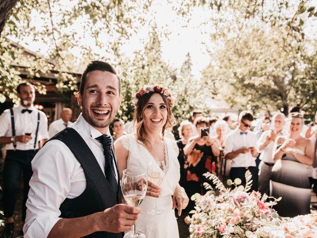 Il matrimonio di Lorenzo e Chiara a Barberino Val d'Elsa, Firenze 76