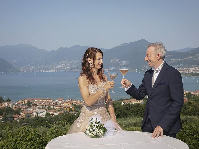 Il matrimonio di Dario e Cinzia a Iseo, Brescia 33