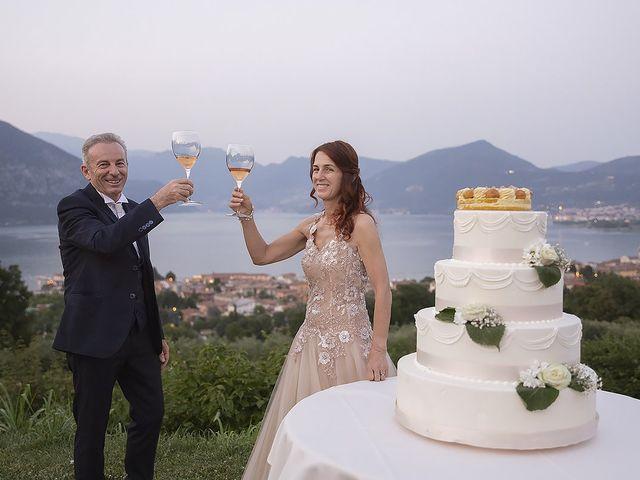 Il matrimonio di Dario e Cinzia a Iseo, Brescia 43