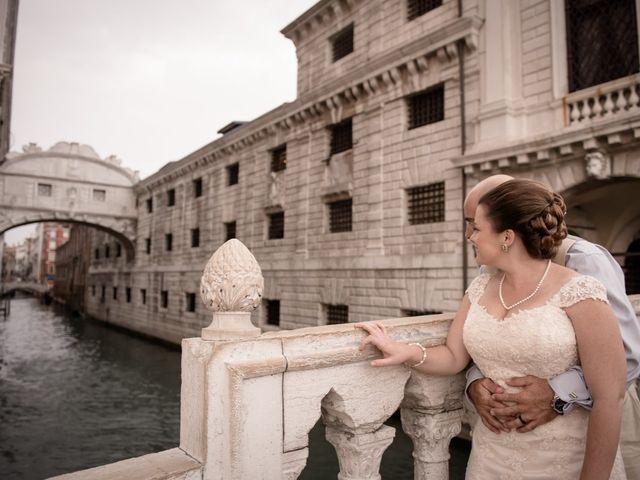 Il matrimonio di Troy e Danielle a Venezia, Venezia 50