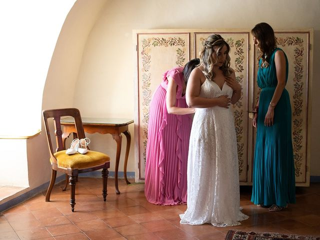 Il matrimonio di Noemi e Antonio a Ceri, Roma 15