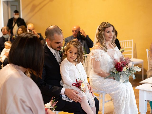 Il matrimonio di Noemi e Antonio a Ceri, Roma 20