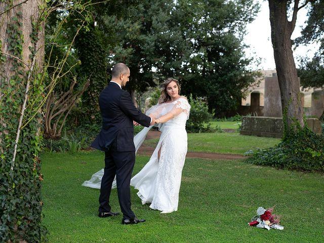 Il matrimonio di Noemi e Antonio a Ceri, Roma 28