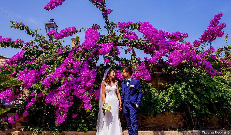 Il matrimonio di Daniel e Cinzia a Carassai, Ascoli Piceno