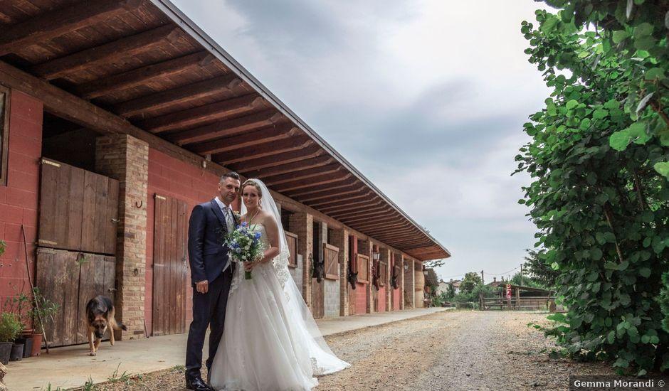 Il matrimonio di Guido e Chiara a Castell'Arquato, Piacenza