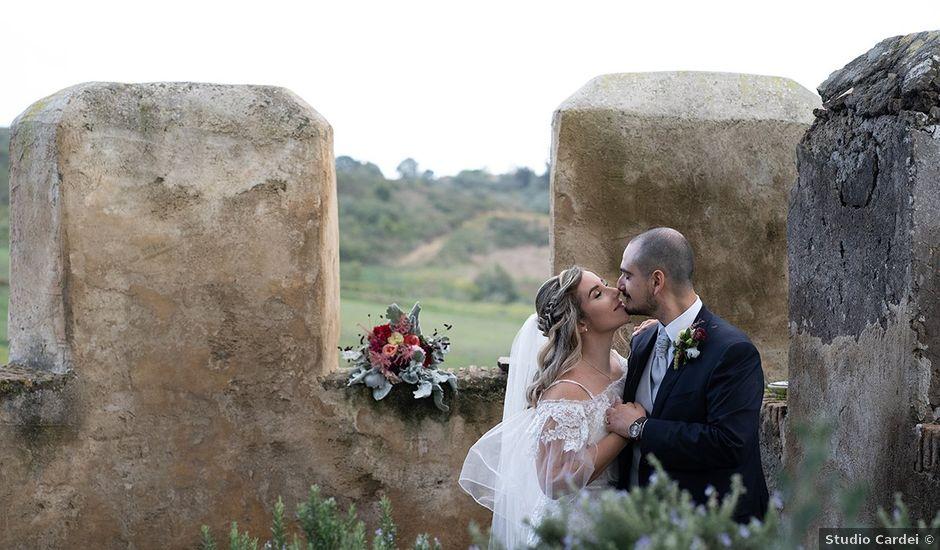 Il matrimonio di Noemi e Antonio a Ceri, Roma