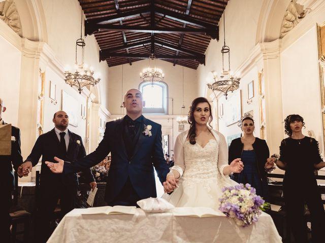 Il matrimonio di Antonio e Silvia a Montespertoli, Firenze 18