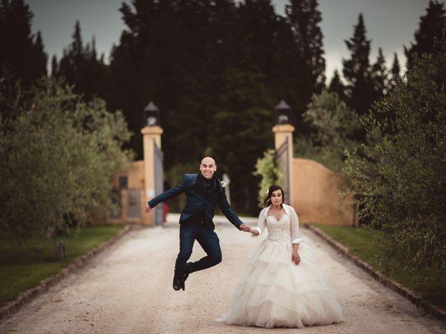 Il matrimonio di Antonio e Silvia a Montespertoli, Firenze 25