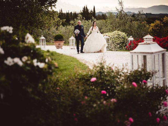 Il matrimonio di Antonio e Silvia a Montespertoli, Firenze 26