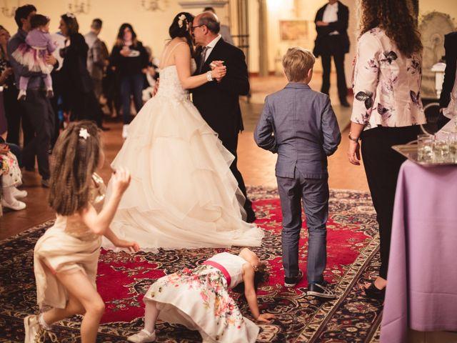Il matrimonio di Antonio e Silvia a Montespertoli, Firenze 37