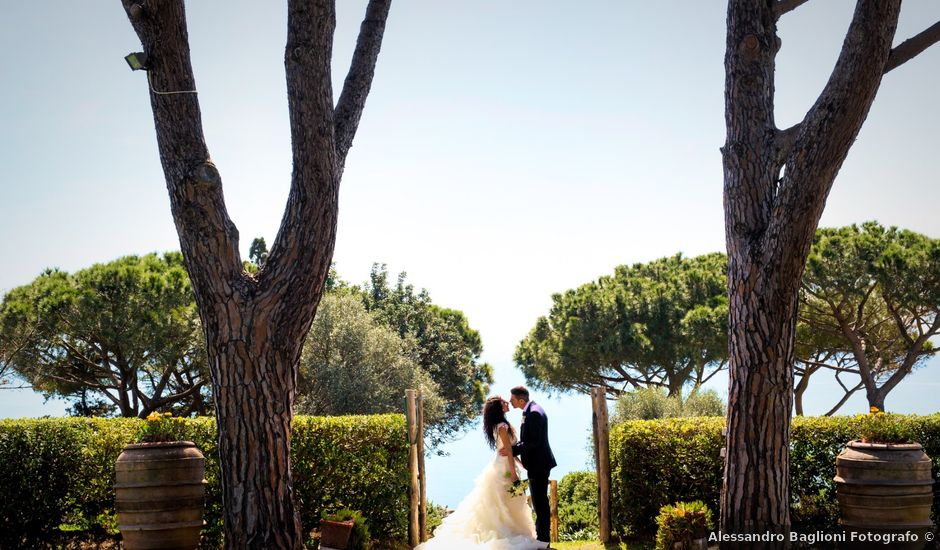 Il matrimonio di Gino e Skeila a Castiglione della Pescaia, Grosseto