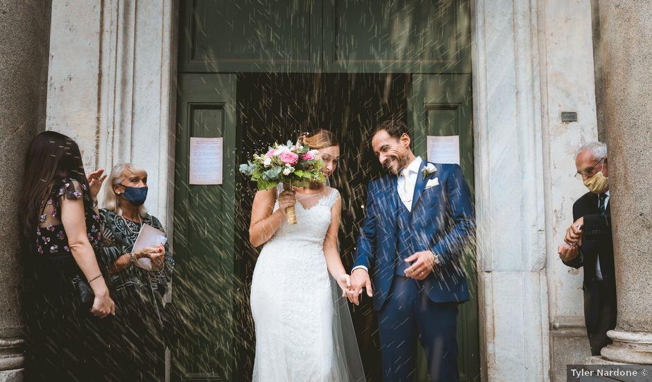Il matrimonio di Emanuele e Cristina a Roma, Roma