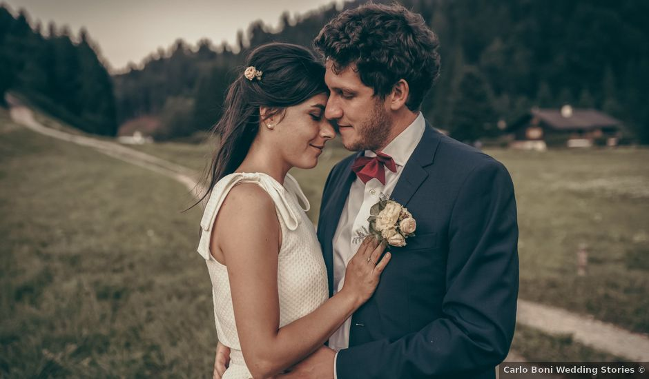 Il matrimonio di Martin e Valeria a Mezzocorona, Trento