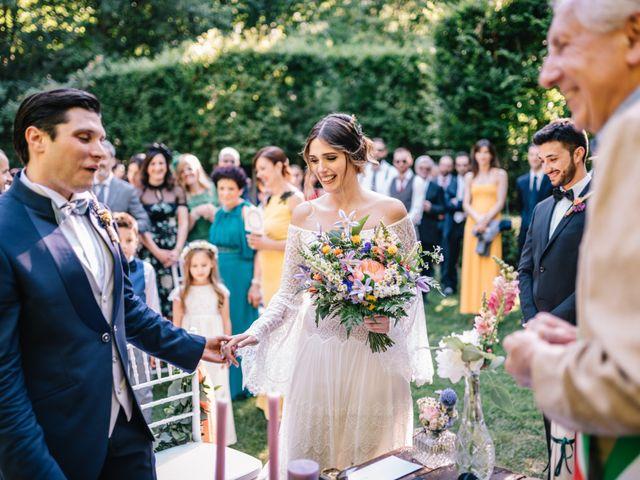 Il matrimonio di Daniele e Teresa a Medole, Mantova 80
