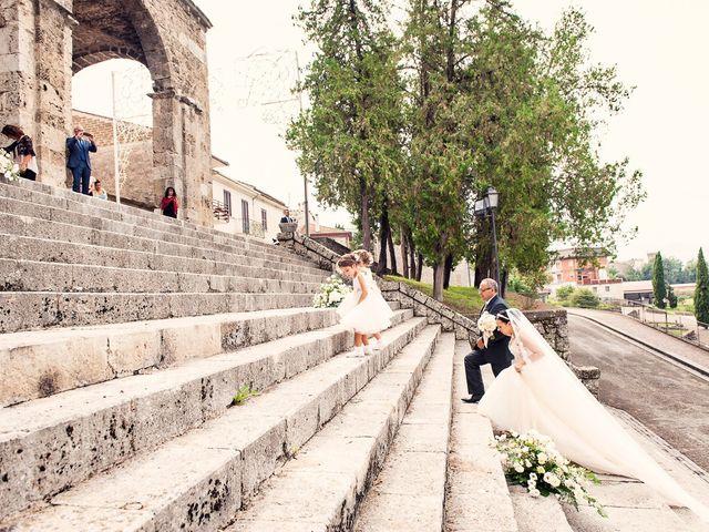 Il matrimonio di Manuel e Ilenia a Aquino, Frosinone 17