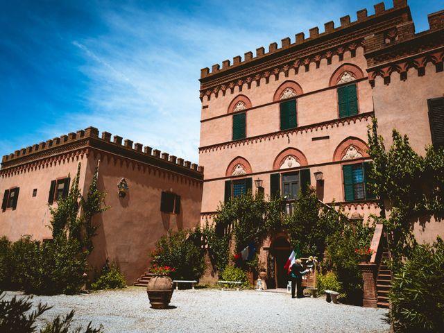 Il matrimonio di Andrea e Emilie a Campiglia Marittima, Livorno 45