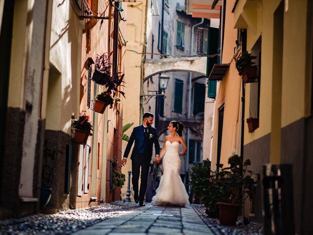 Il matrimonio di Marco e Federica a Bordighera, Imperia 38