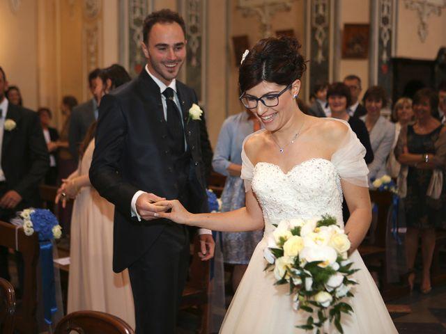 Il matrimonio di Andrea e Elena a Besozzo, Varese 7