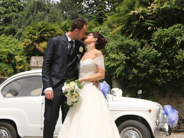 Il matrimonio di Andrea e Elena a Besozzo, Varese 12