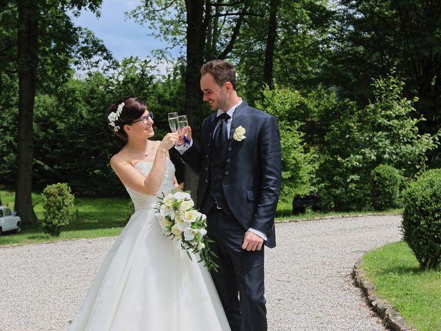Il matrimonio di Andrea e Elena a Besozzo, Varese 14