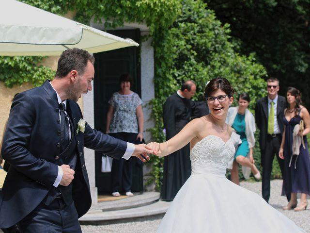 Il matrimonio di Andrea e Elena a Besozzo, Varese 17