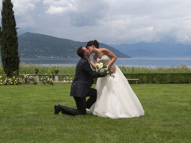 Il matrimonio di Andrea e Elena a Besozzo, Varese 23