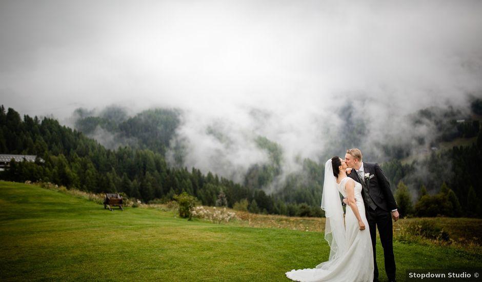 Il matrimonio di Timothy e Federica a Gressan, Aosta