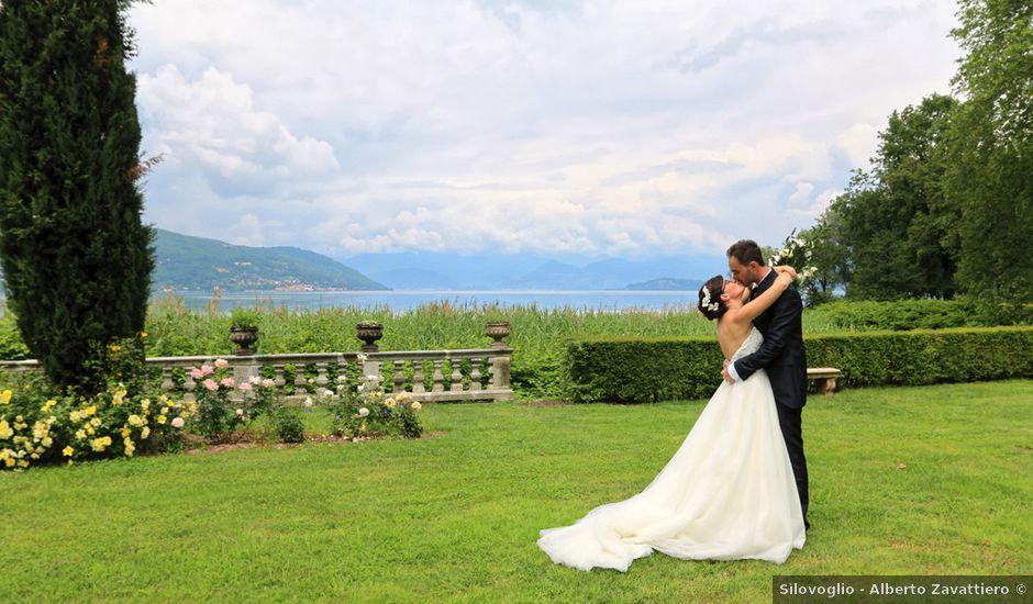 Il matrimonio di Andrea e Elena a Besozzo, Varese