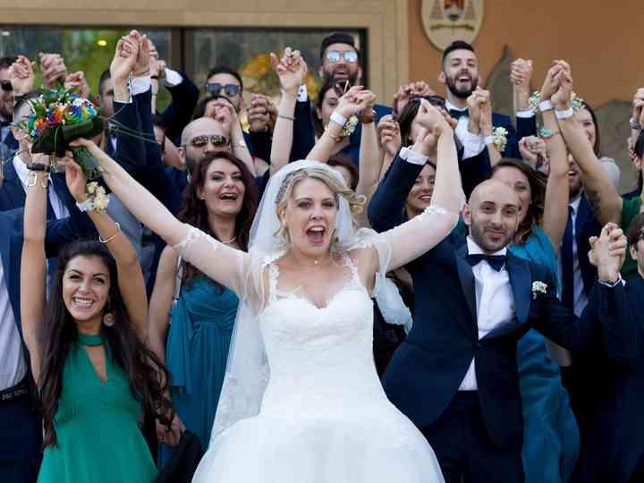 le nozze di Maria e Federico
