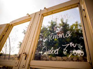le nozze di Gemma e Sean 2