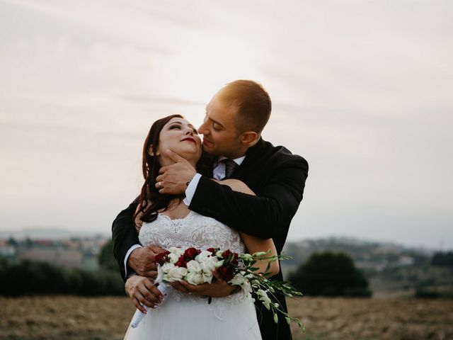 Il matrimonio di Mirko e Francesca a Mosciano Sant'Angelo, Teramo 1