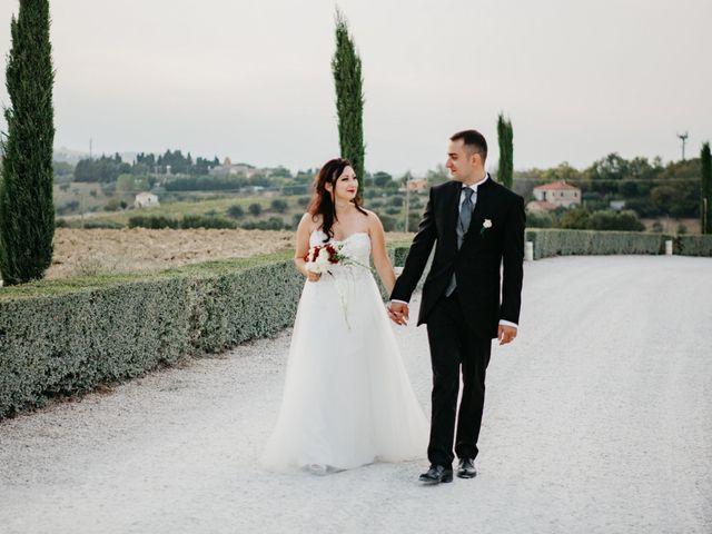 Il matrimonio di Mirko e Francesca a Mosciano Sant'Angelo, Teramo 43