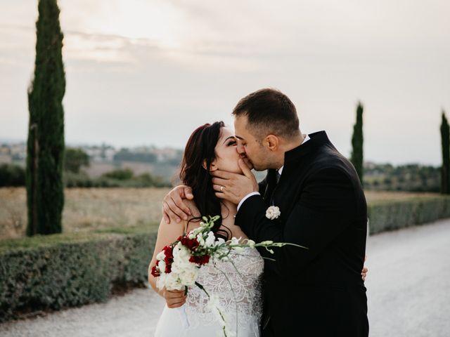 Il matrimonio di Mirko e Francesca a Mosciano Sant'Angelo, Teramo 46