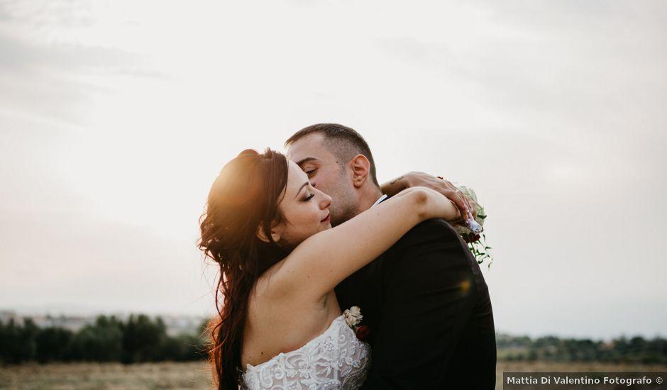 Il matrimonio di Mirko e Francesca a Mosciano Sant'Angelo, Teramo
