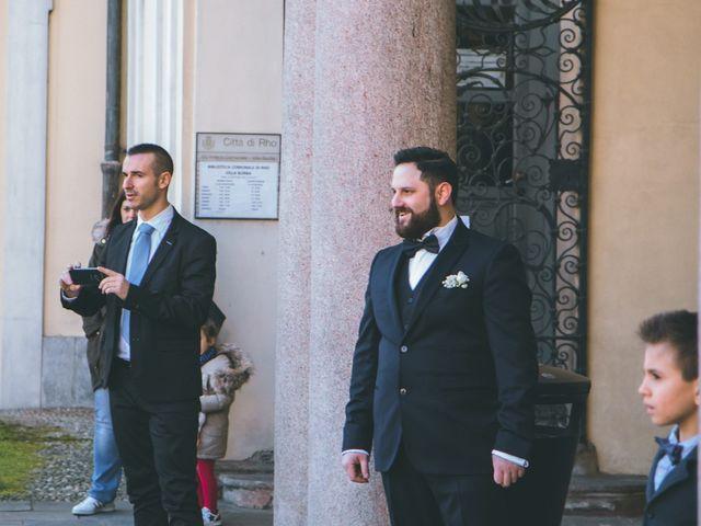 Il matrimonio di Matteo e Dalal a Rho, Milano 13