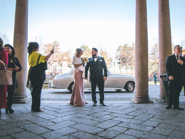 Il matrimonio di Matteo e Dalal a Rho, Milano 22