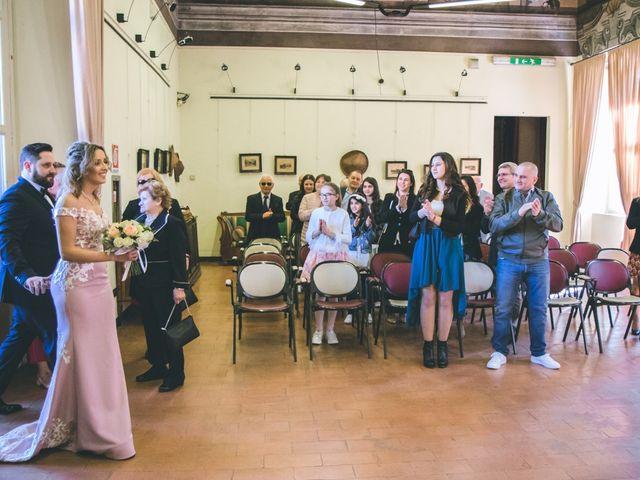 Il matrimonio di Matteo e Dalal a Rho, Milano 24
