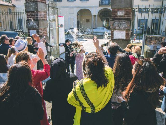Il matrimonio di Matteo e Dalal a Rho, Milano 58