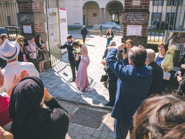 Il matrimonio di Matteo e Dalal a Rho, Milano 61