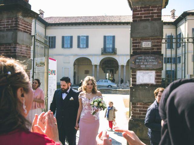 Il matrimonio di Matteo e Dalal a Rho, Milano 63
