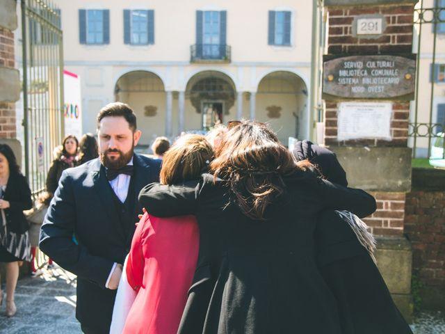 Il matrimonio di Matteo e Dalal a Rho, Milano 67