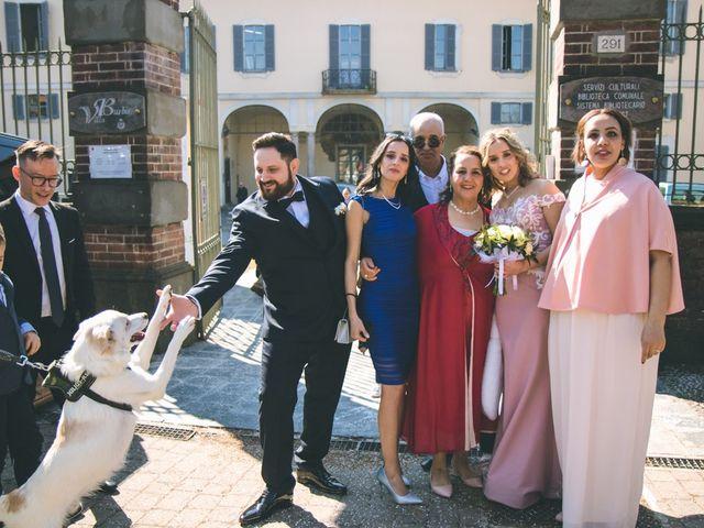 Il matrimonio di Matteo e Dalal a Rho, Milano 73