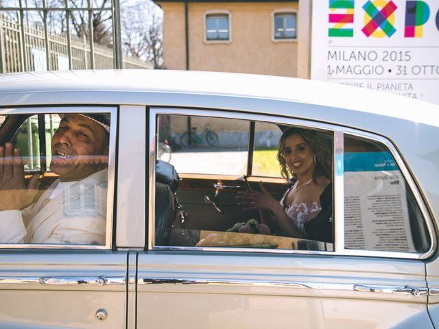 Il matrimonio di Matteo e Dalal a Rho, Milano 85