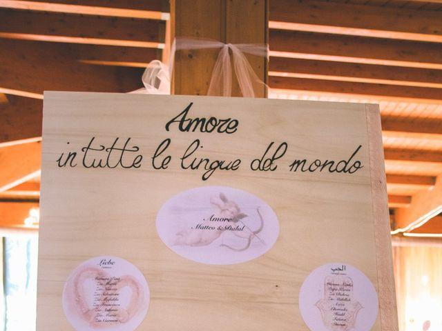 Il matrimonio di Matteo e Dalal a Rho, Milano 110