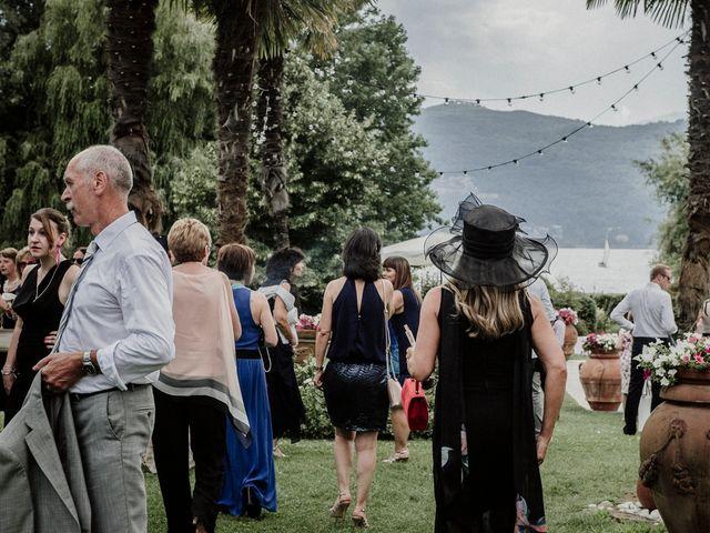 Il matrimonio di Andrea e Giorgia a Monvalle, Varese 40