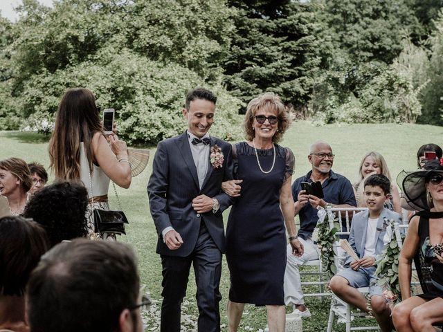 Il matrimonio di Andrea e Giorgia a Monvalle, Varese 53