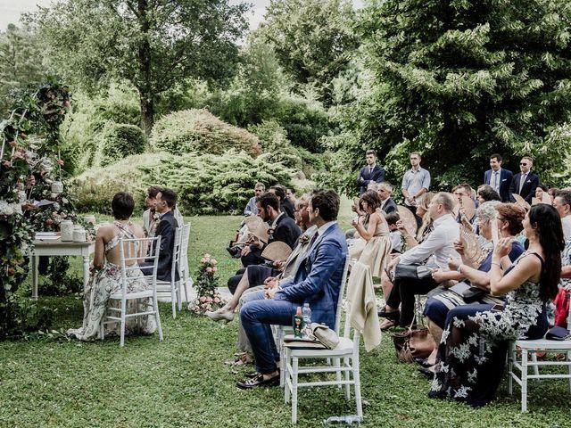 Il matrimonio di Andrea e Giorgia a Monvalle, Varese 63