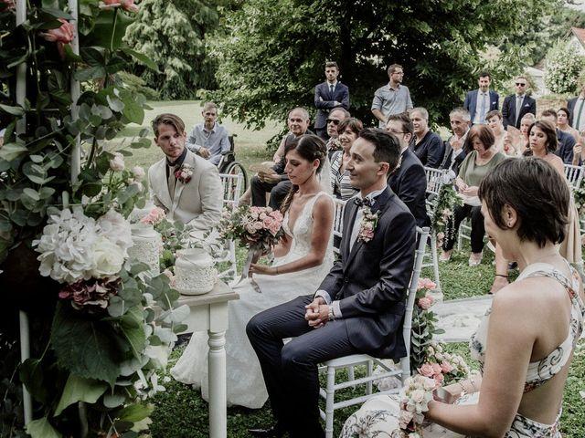 Il matrimonio di Andrea e Giorgia a Monvalle, Varese 70